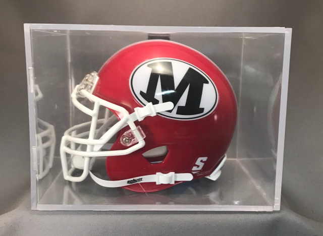 "Ball Qube UV protected 7""x5""x5"" Mini Helmet Display cube"